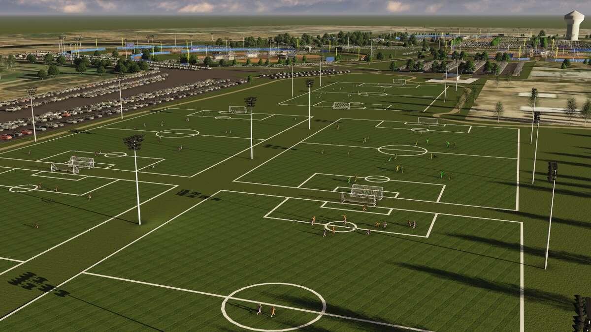 Hogan Park rendering.
