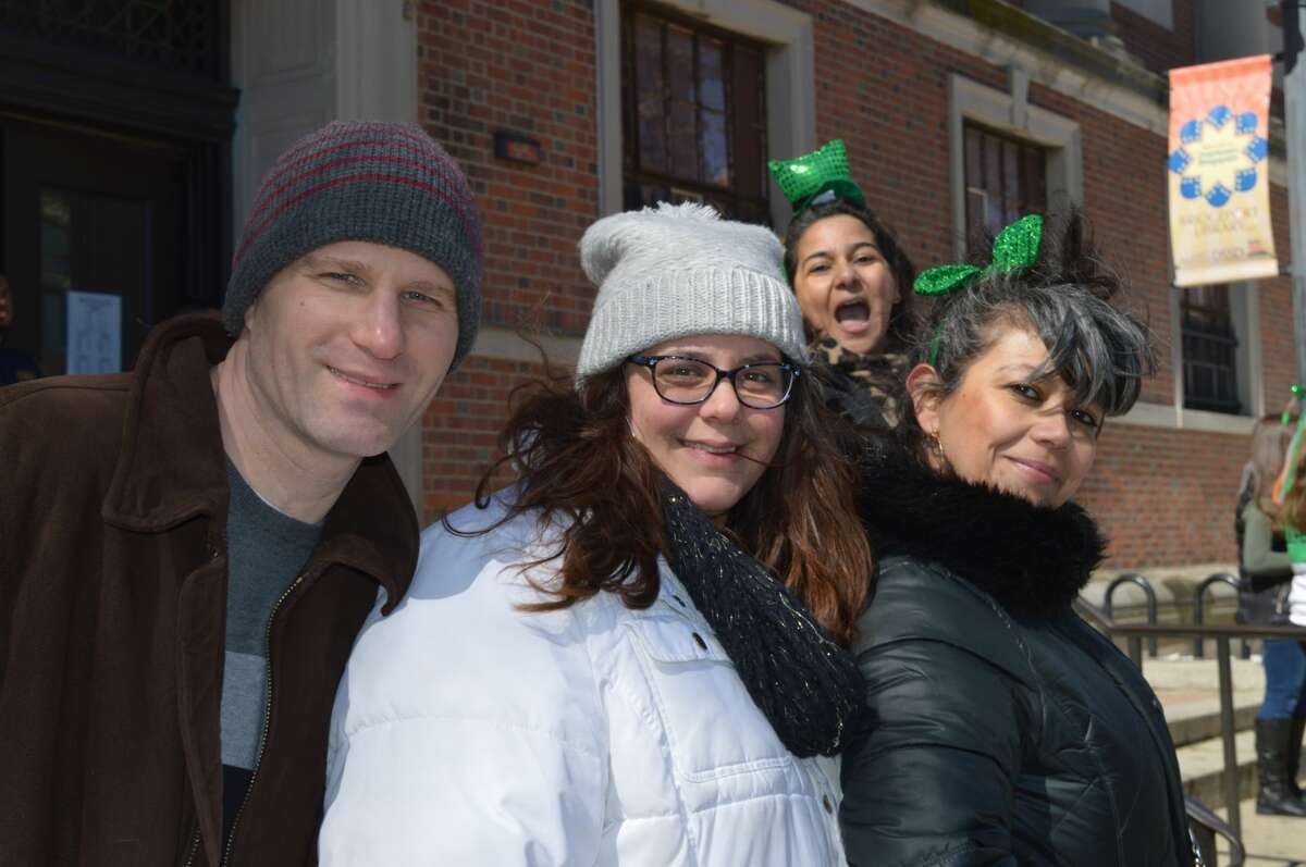 The Greater Bridgeport St. Patrick?'s Day Celebration hosted its 35th annual parade on March 17, 2017. Marchers traveled through downtown Bridgeport, beginning at Harbor Yard. Were you SEEN?