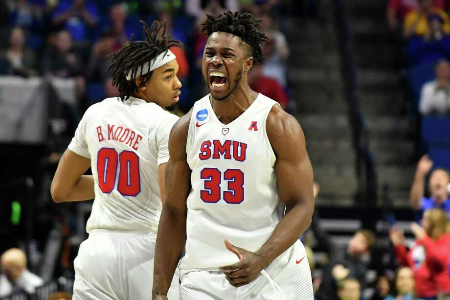 5. Semi Ojeleye, SMUAge/Height: 22, 6-6A Duke transfer, Ojeleye played a great deal as a power forward, but has the athleticism and shooting touch for either forward spot with a high-energy style that could translate well at the next level. Photo: J Pat Carter, Getty Images / 2017 Getty Images