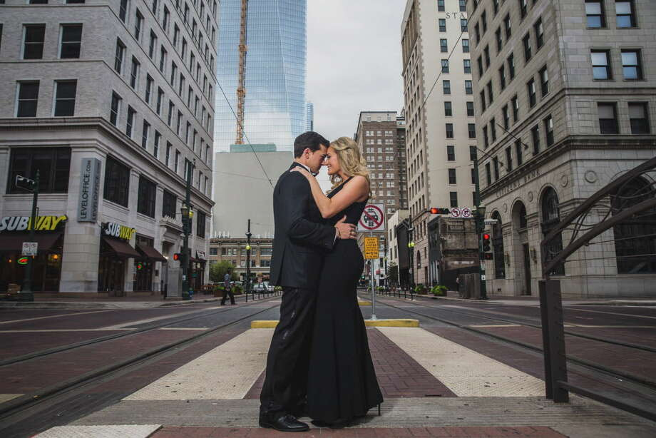 The couple dated for a year before getting married. Photo: Steve Lee / Steve Lee Photography