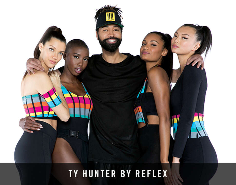 Ty Hunter, longtime stylist for Beyoncé stylist, has launched a new athleisure collection at Six:02. Photo: Six:02