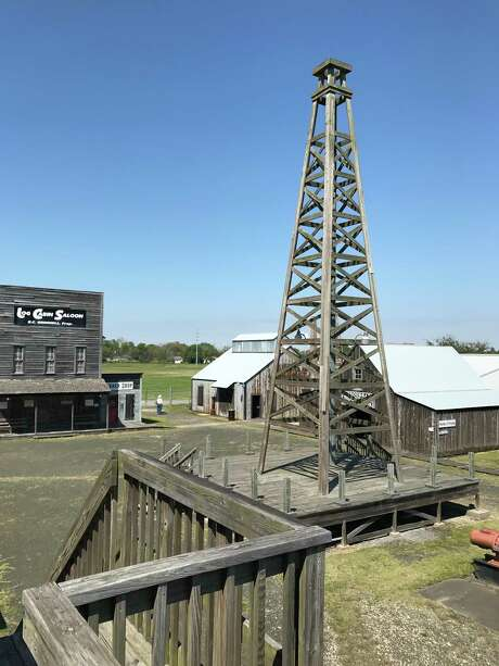 The Gladys City replica resembles the original, without the mud, crowds and chaos. Photo: Joe Holley, Joe Holley/Houston Chronicle / Houston Chronicle