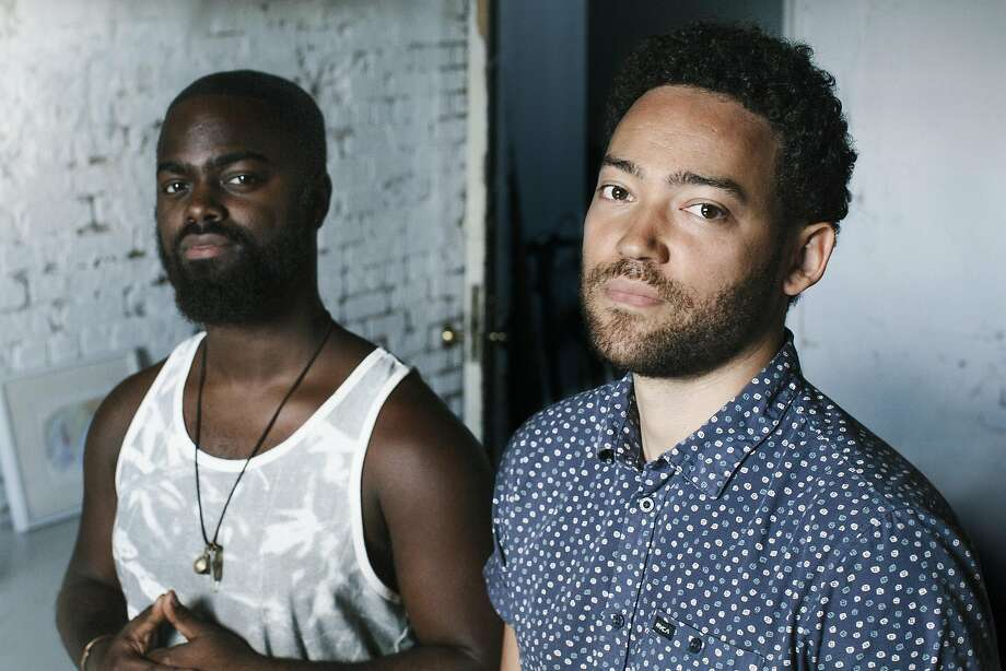 Taylor McFerrin (right) and drummer Marcus Gilmore collaborated on McFerrin's 2014 album. They perform at SFJazz Center on March 25-26. Photo: Courtesy Red Light Management