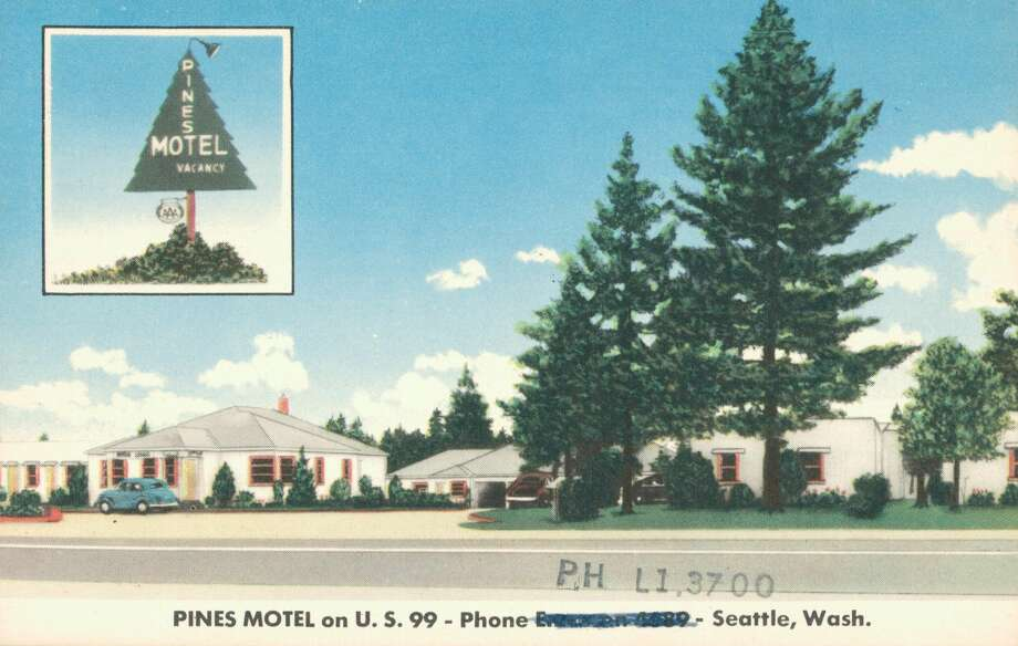 Pines Motel on United States 99, Seattle, 1926. Photo: Smith Collection/Gado/Getty Images