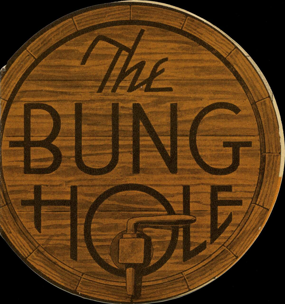 """A menu for """"The Bung Hole"""" from 1941. You can see more about this establishment at this Instagram page."""