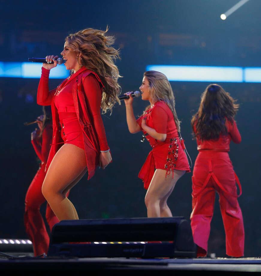 Fifth Harmony performs at NRG Stadium on Friday, March 17, 2017. Photo: Karen Warren / Houston Chronicle