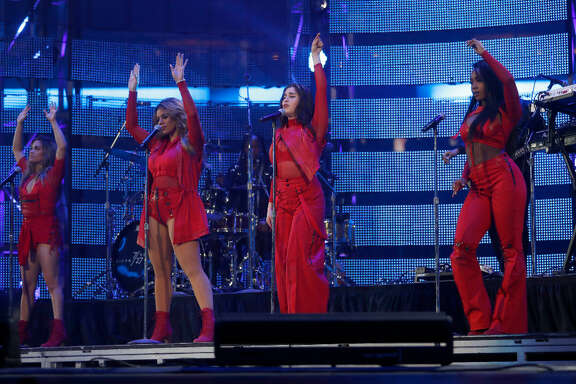 Fifth Harmony performs at NRG Stadium on Friday, March 17, 2017.