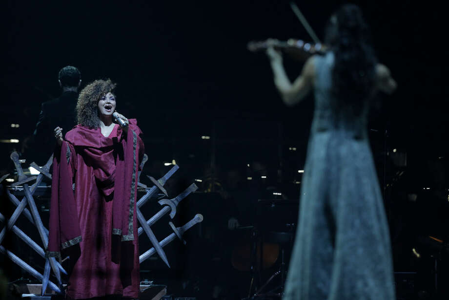 Game of Thrones musical musicians perform during a multi-media performance at Toyota Center on Friday, March 17, 2017, in Houston. Photo: Elizabeth Conley / Houston Chronicle