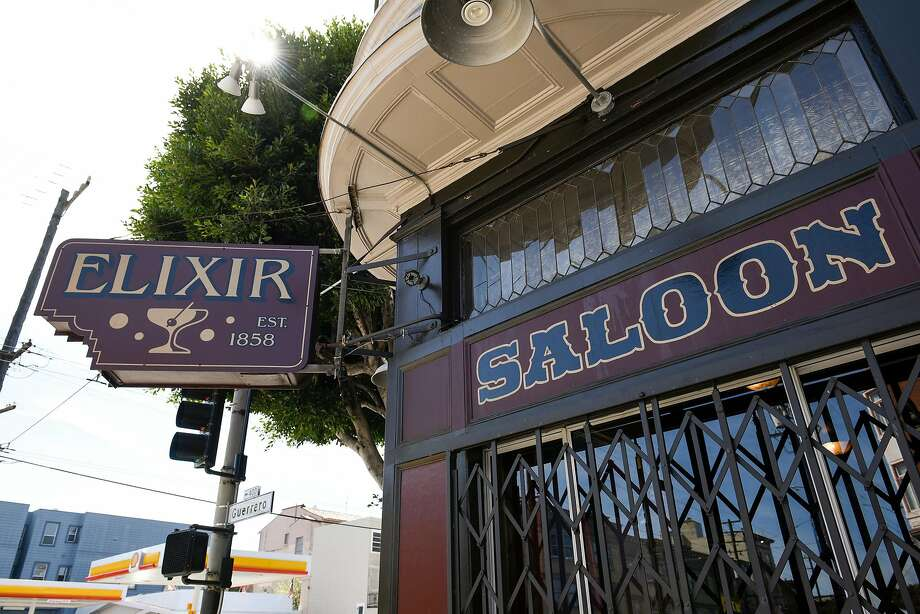 Elixir, at 16th and Guerrero streets, is the second-oldest saloon in San Francisco. Photo: Michael Short, Special To The Chronicle