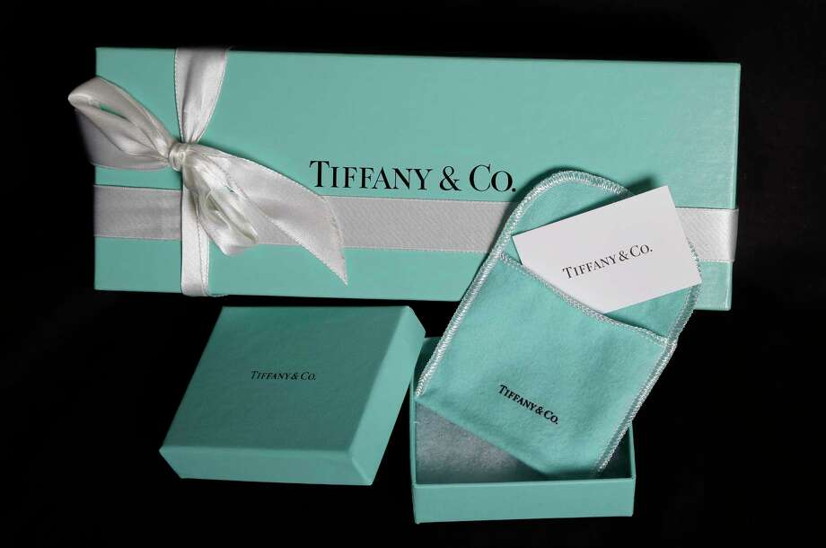 FILE - This Nov. 27, 2012, file photo, shows Tiffany & Co. gift boxes displayed in Boston. Tiffany & Co. reports financial earnings Friday, March 17, 2017. (AP Photo/Elise Amendola, File) Photo: Elise Amendola, STF / Copyright 2016 The Associated Press. All rights reserved.