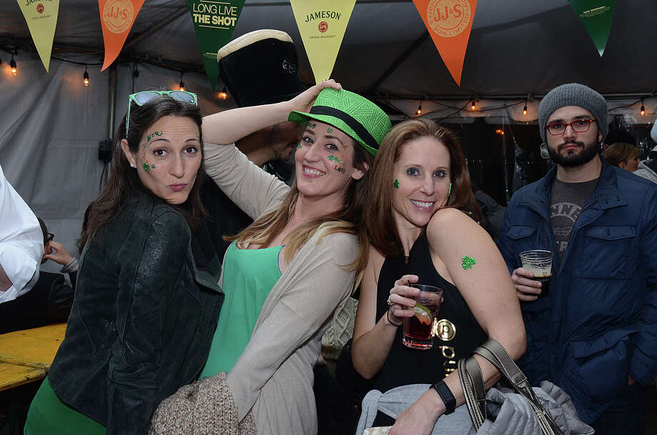 Revelers celebrated St. Patrick's Day in SoNo on March 17, 2017. Were you SEEN out on the town? Photo: J.C. Martin