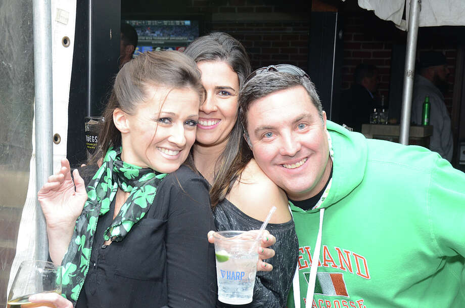Revelers celebrated St. Patrick's Day in SoNo on March 17, 2017. Were you SEEN out on the town? Click here for more photos.  Photo: J.C. Martin