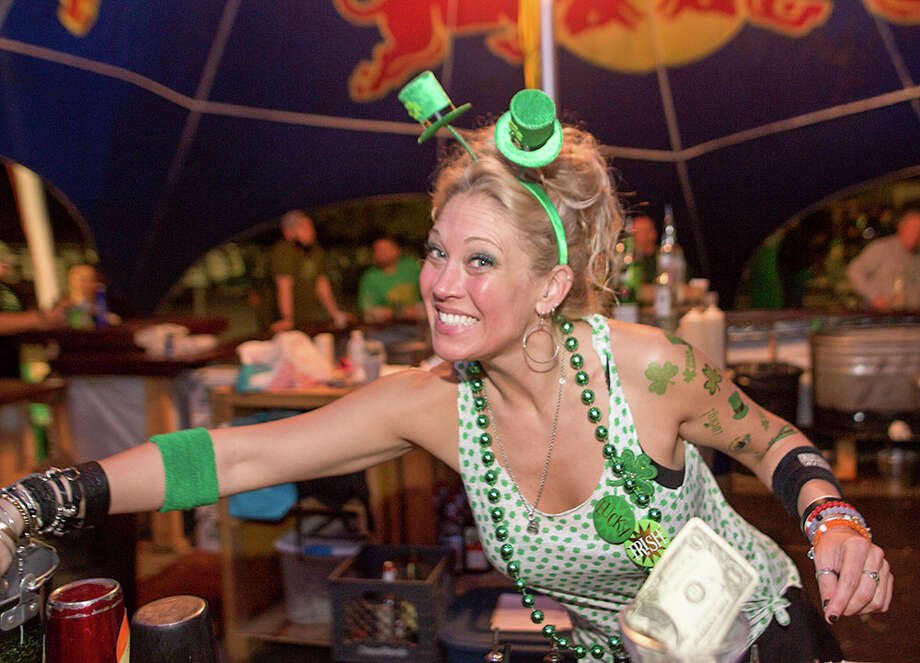 Click through the gallery and let our guide help you plan your St. Patrick's Day weekend fun. Photo: Big Texas Ice House, St. Patrick's Day Bash
