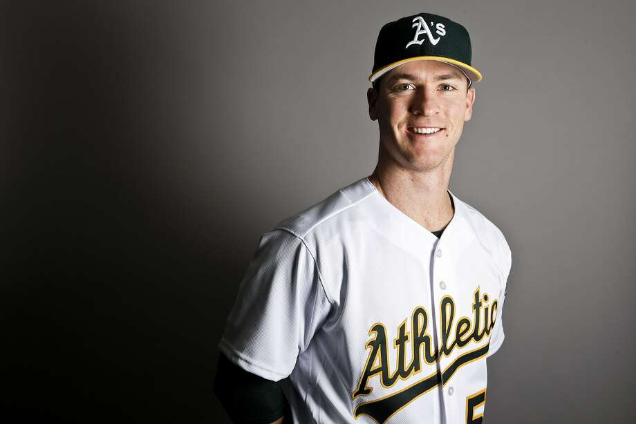 This is a 2017 photo of second baseman Joey Wendle of the Oakland Athletics baseball team poses for a portrait. This image reflects the Athletics active roster as of Wednesday, Feb. 22, 2017, when this image was taken. (AP Photo/Chris Carlson) Photo: Chris Carlson, Associated Press