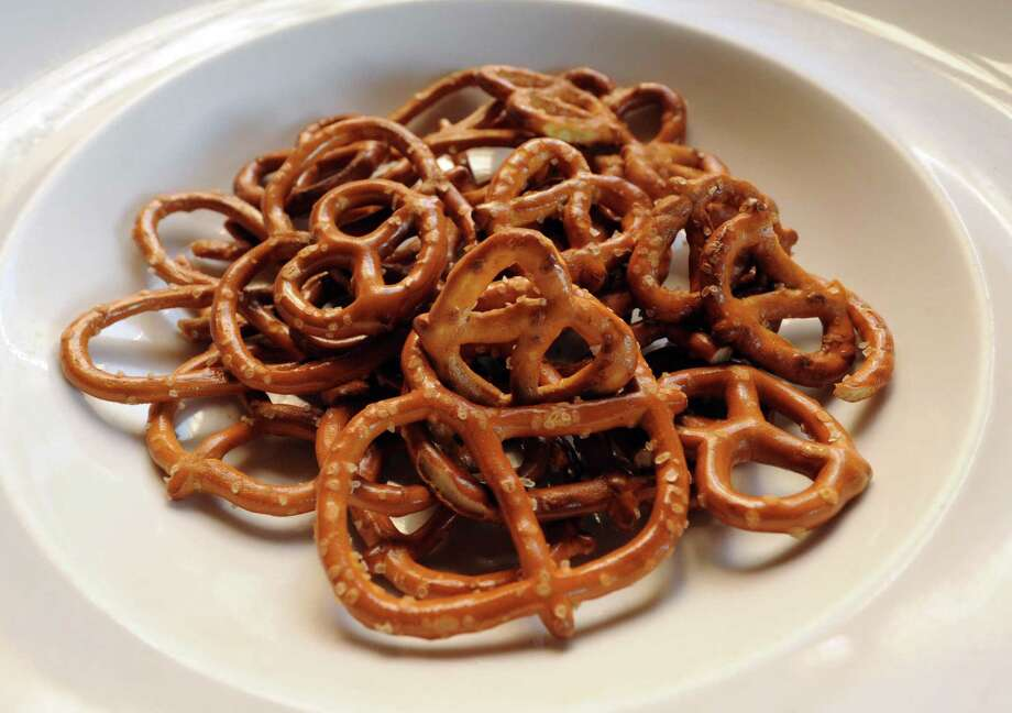 Are salty pretzels bad for you? European cardiologists disagree with their American counterparts when it comes to sodium intake and heart health. Photo: Michael P. Farrell, Staff Photographer / ONLINE_YES