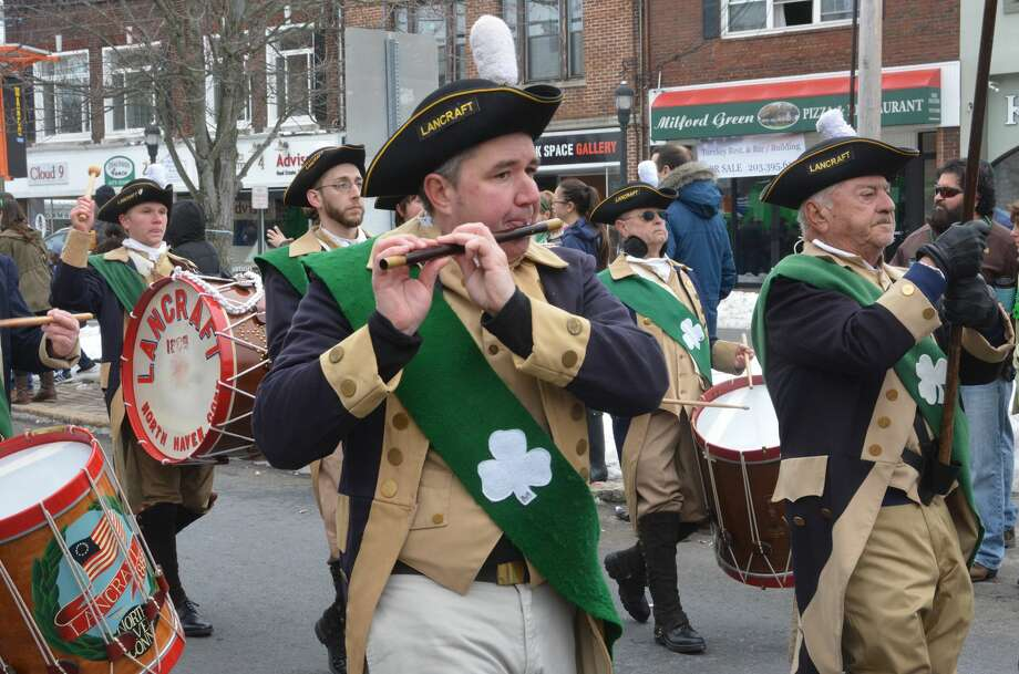 The Irish Heritage Society of Milford held its annual St. Patrick's Day parade on March 18, 2017. Were you SEEN? Photo: Vic Eng / Hearst Connecticut Media Group