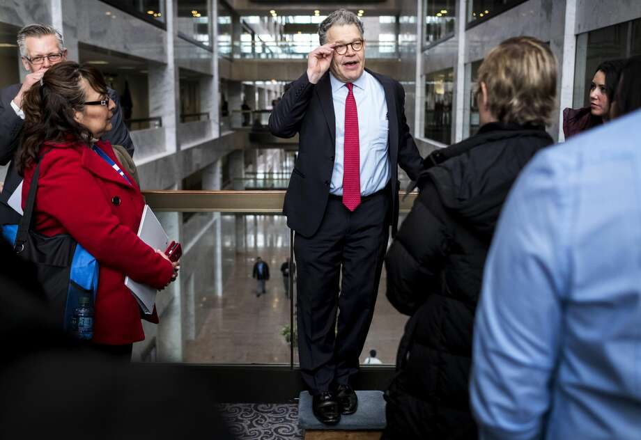 Sen. Al Franken meets Minnesotans on Capitol Hill earlier this month. Photo: MELINA MARA/The Washington Post