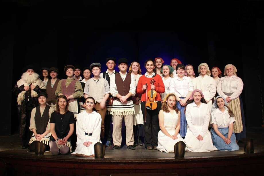 The cast for Cambridge Central Schooll Drama Club's spring musical Fiddler on the Roof. (submitted photo)