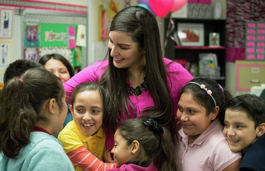 Happier, more successful teachers are most likely to stay in the classroom longer, thus reducing the state's significant retention issues. Each fall, more than 27,000 new teachers enter classrooms in Texas. Photo: Darren Abate, STF / Darren Abate Media LLC