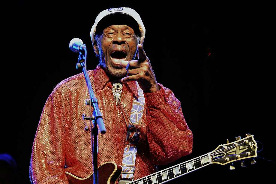 Legendary singer and composer Chuck Berry, one of the pioneers of rock-and-roll, died Saturday, March 18, 2017, near his hometown of St. Louis, Mo. He was 90.>>>Scroll through the gallery to see early pictures of Chuck Berry's career Photo: PABLO PORCIUNCULA, AFP/Getty Images