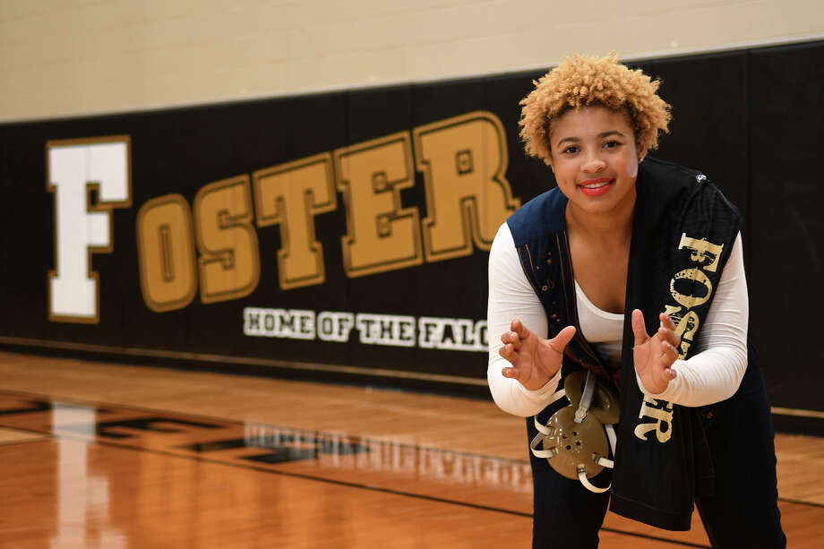 Nkechinyere Nwankwo, 18, a senior at Richmond Foster High School, was selected as the 2017 All-Greater Houston Female Wrestler of the Year. (Photo by Jerry Baker/Freelance) Photo: Jerry Baker/For The Chronicle