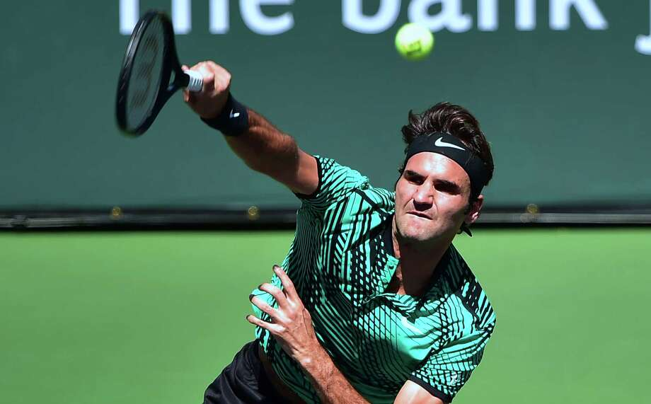 Roger Federer will face Stan Wawrinka in an all-Swiss title match at the BNP Paribas Open. Photo: FREDERIC J. BROWN, Staff / AFP or licensors