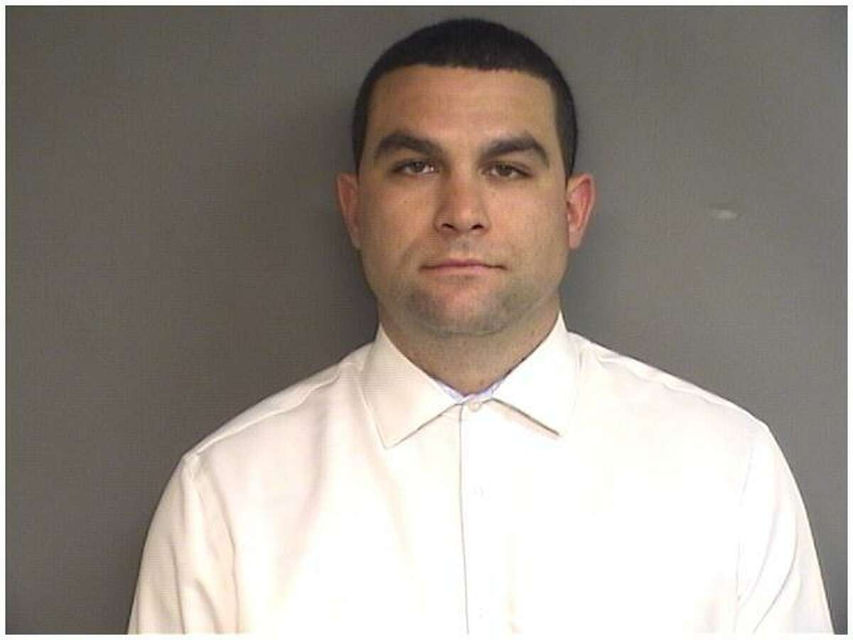 Former West Hill High School assistant basketball coach, Jose Amor,, 28, pleaded not guilty to a hindering prosecution charge at the Stamford courthouse/.