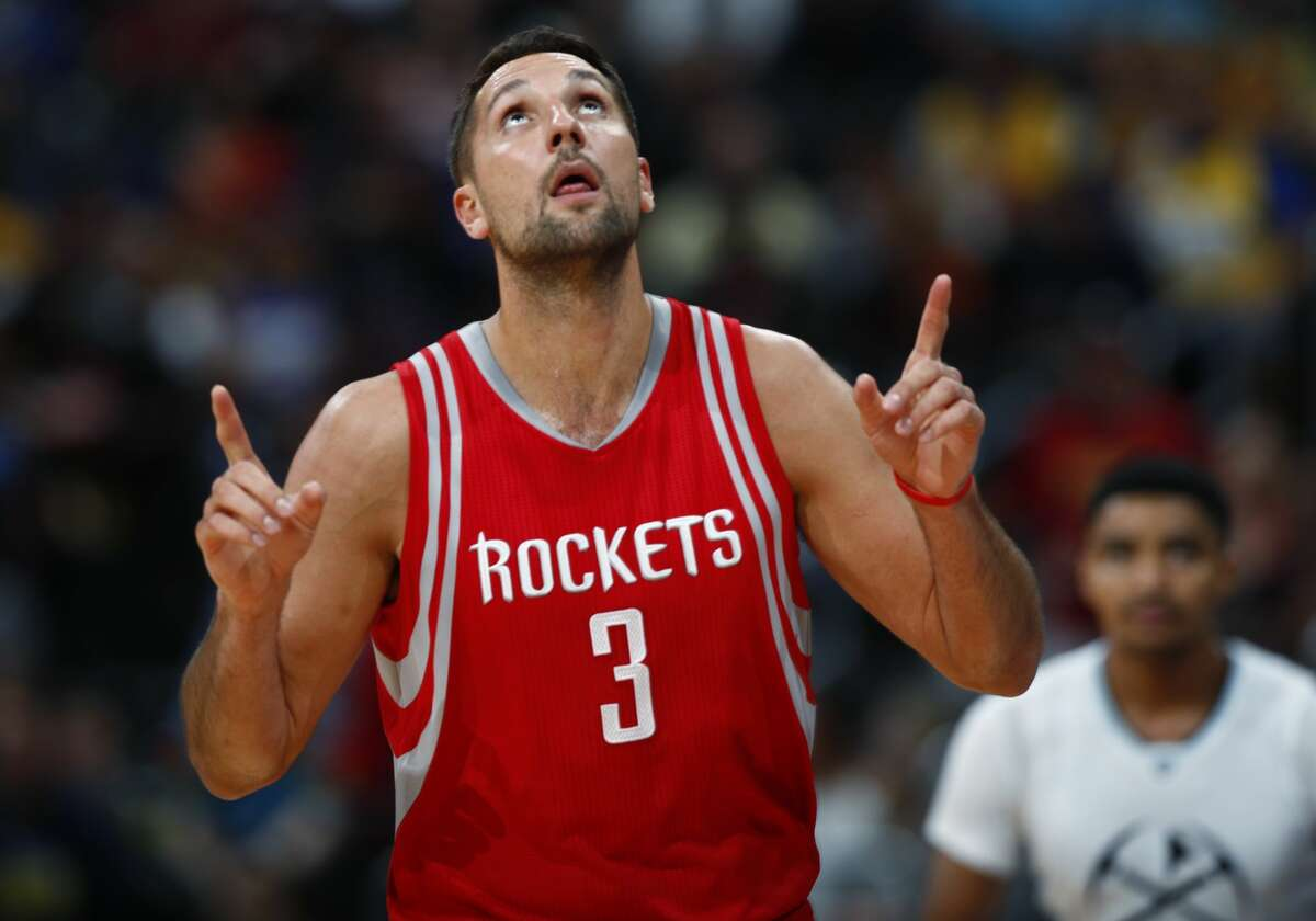 Houston Rockets forward Ryan Anderson is expected to miss up to two weeks with a sprained ankle.