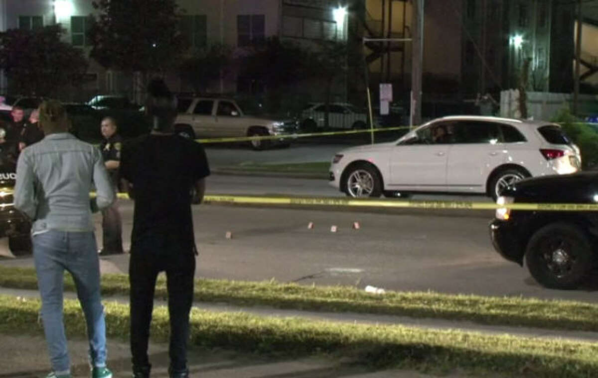 A woman was fatally shot in her car while heading home from a club.