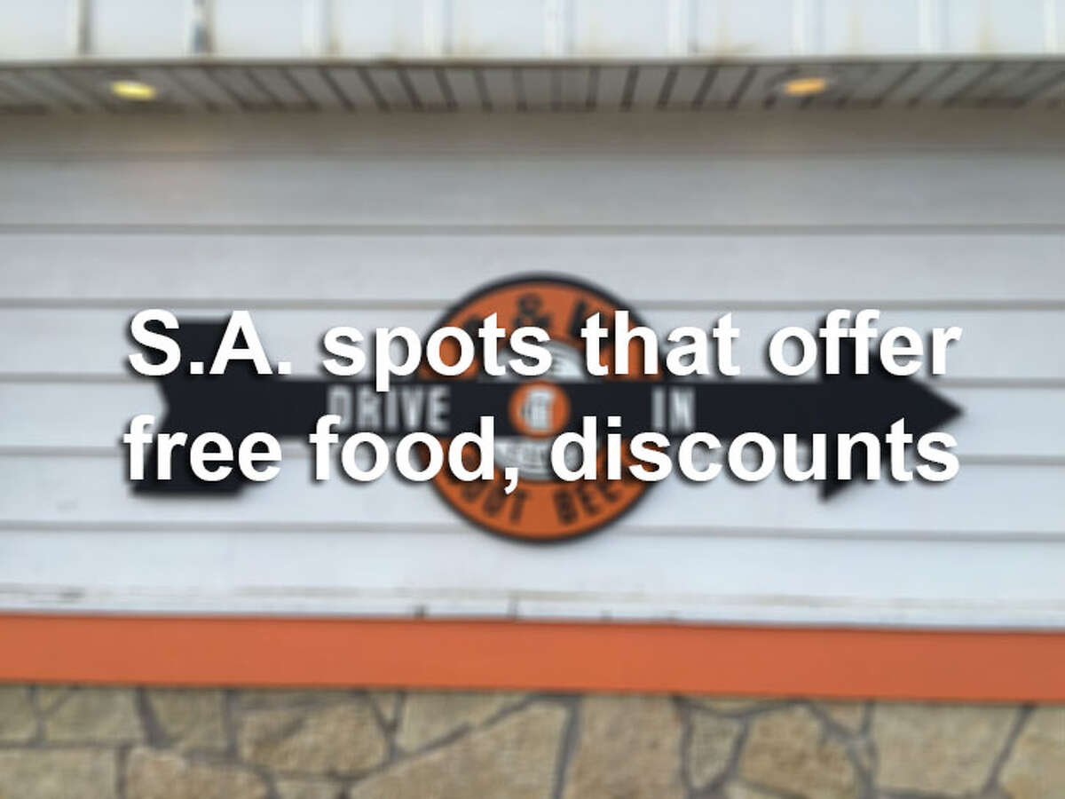 From sundaes to sandwiches, a slew of popular restaurants in the San Antonio area offer free or discounted meals for its most loyal customers. See other places where hungry patrons can cash in on free and discounted food in the following gallery.