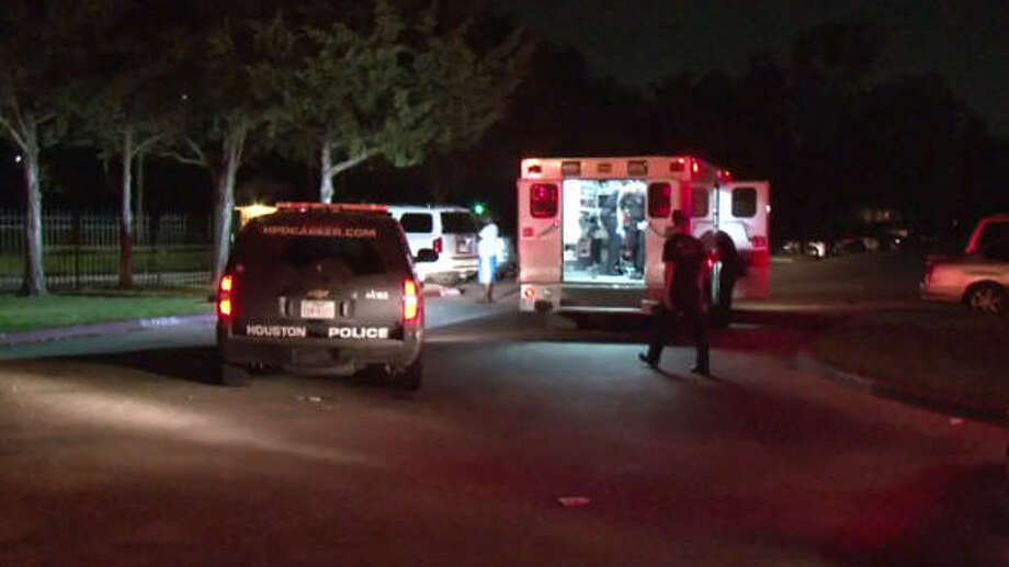 A man was shot during an overnight carjacking.