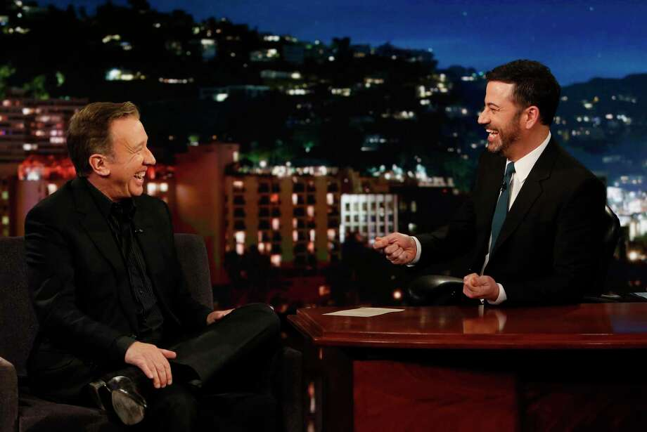 Tim Allen and Jimmy Kimmel, Jimmy Kimmel Live! | Photo Credits: Randy Holmes / ABC / © 2017 American Broadcasting Companies, Inc. All rights reserved.