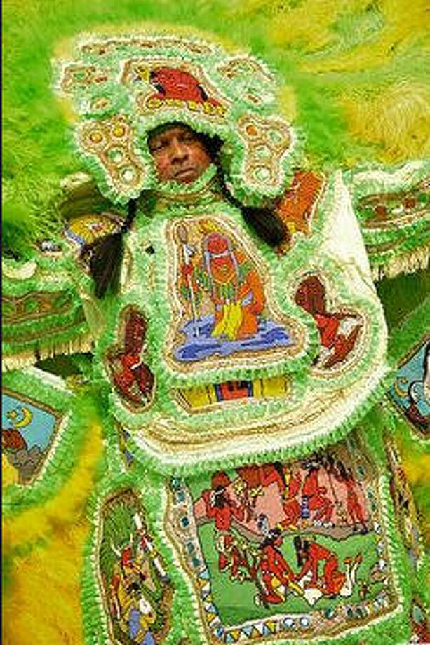 It's an only-in-New Orleans tradition. Mardi Gras Indian tribes put on their costumes and take to the streets to celebrate Super Sunday. In the heavily Catholic city, that's the Sunday closest to St. Joseph's Day. The tribes dance, sing, parade and compare hand-made costumes.>>>Scroll through the gallery to see some of the costumes and styles on display only a couple of times a year Photo: Getty Images, Getty