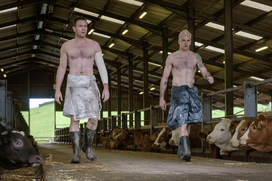 """Ewan McGregor (left) and Jonny Lee Miller in """"T2 Trainspotting."""" Photo: Jaap Buitendijk, Associated Press"""