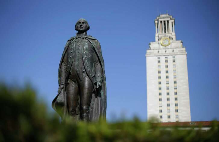 In Texas, the state Legislature is currently weighing a budget with significant cuts for public universities and research.  (AP Photo/Eric Gay)