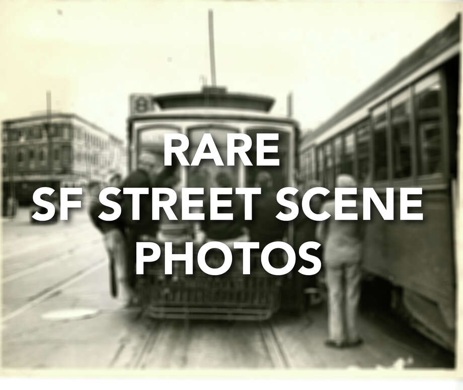 Click through to see rare, historical scene photos from the San Francisco Chronicle archives.
