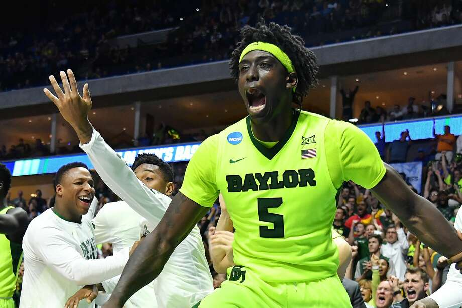 TULSA, OK - MARCH 19:  Johnathan Motley #5 of the Baylor Bears reacts against the USC Trojans during the second round of the 2017 NCAA Men's Basketball Tournament at BOK Center on March 19, 2017 in Tulsa, Oklahoma.  (Photo by J Pat Carter/Getty Images) Photo: J Pat Carter/Getty Images