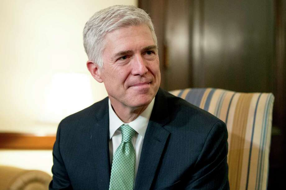 Democrats are divided over how to combat the genial Neil Gorsuch. Photo: Andrew Harnik, STF / Copyright 2017 The Associated Press. All rights reserved.