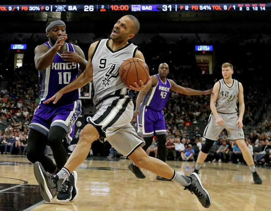 San Antonio Spurs' Tony Parker drives around Sacramento Kings' Ty Lawson during first half action Sunday March 19, 2017 at the AT&T Center. Click ahead to see what you don't know about Tony Parker. Photo: Edward A. Ornelas, Staff / San Antonio Express-News / © 2017 San Antonio Express-News