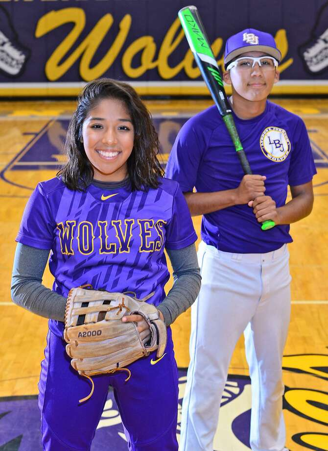 Melanie and Manuel Gamboa III both start at LBJ. Photo: Cuate Santos / Laredo Morning Times / Laredo Morning Times