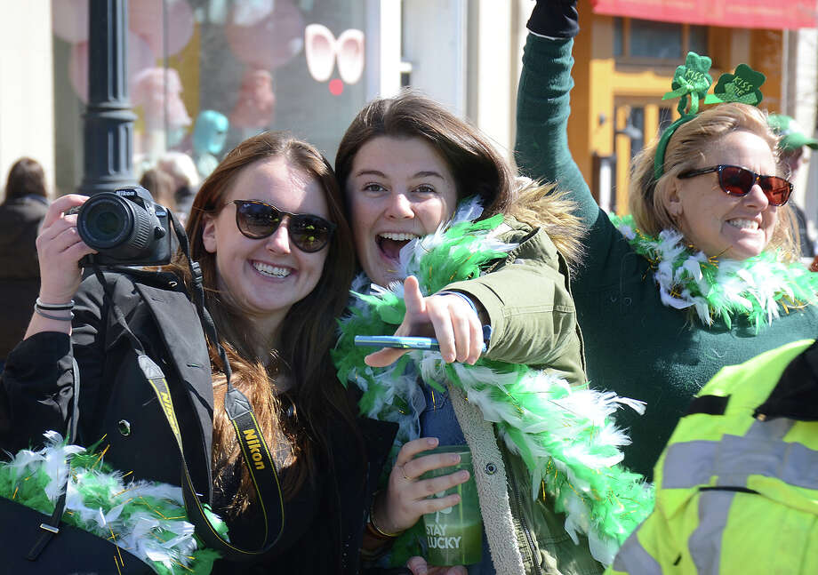 The Greenwich Hibernian Association held its annual St. Patrick's Day parade on March 19, 2017. Were you SEEN? Photo: J.C. Martin / Greenwich Time