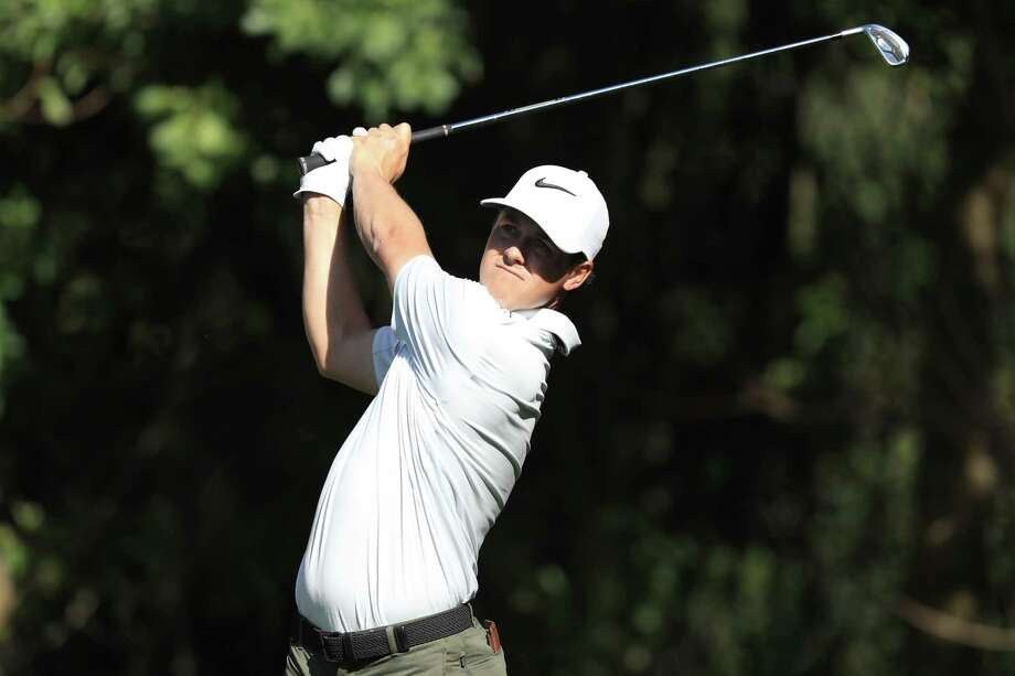 Cody Gribble hits off the third tee during the first round of the Valspar Championship at Innisbrook Resort Copperhead Course on March 9, 2017 in Palm Harbor, Fla. A week later he was swatting an alligator at the Arnold Palmer Invitational in Orlando.Swatting an alligatoris not recommended behavior. Keep clicking to see a gallery of tips for alligator season: Photo: Sam Greenwood, Getty Images / 2017 Getty Images