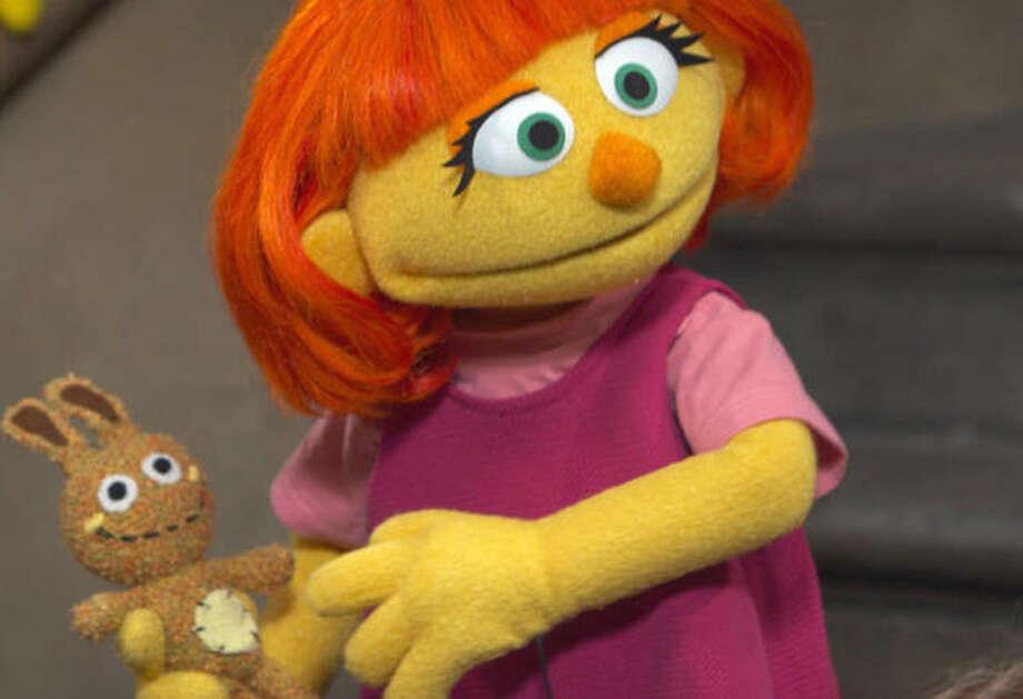 Julia, Sesame Street   Photo Credits: CBS News