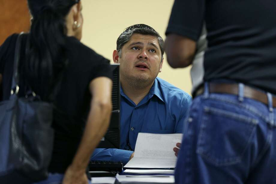 Salvador Castillo, the veterans service officer for Cameron County, recalls that, when he started his job in Brownsville in 2011, the typical wait time for vets to get a final VA response exceeded two years. It has now dipped below six months in most cases. Photo: Jerry Lara /San Antonio Express-News / © 2015 San Antonio Express-News