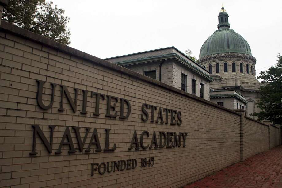 This file photo shows the U.S. Naval Academy in Annapolis, Md. Reports of sexual assaults increased at two of the three military academies last year and an anonymous survey suggests sexual misconduct rose across the board at the schools. Photo: Kathleen Lange / AP / Copyright 2017 The Associated Press. All rights reserved.
