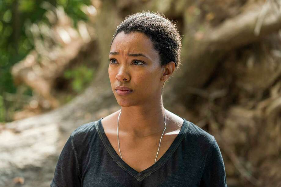 Sonequa Martin-Green, The Walking Dead | Photo Credits: Gene Page/AMC / © 2016 AMC Film Holdings LLC. All Rights Reserved.