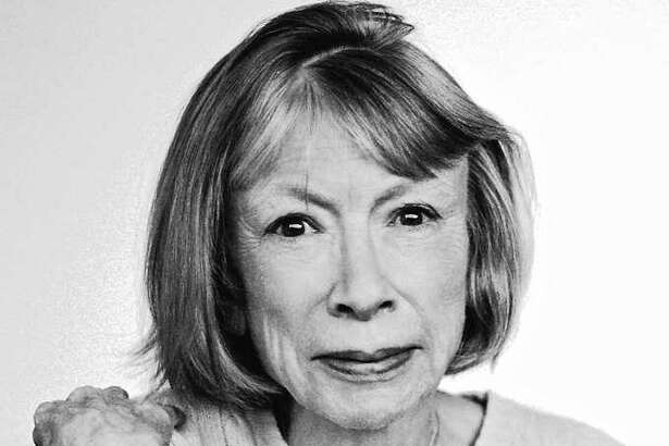 """Joan Didion is known for her literary journalism and essays in collections such as """"Slouching Towards Bethlehem."""""""