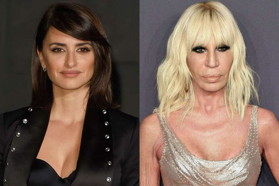 Penelope Cruz and Donatella Versace | Photo Credits: Anthony Harvey/Getty Images, ANGELA WEISS/AFP/Getty Images