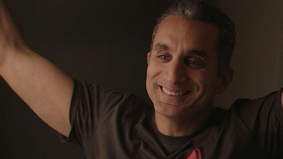 "Bassem Youssef, subject of ""Tickling Giants."" Photo: Daniel Maraccino, Sarkasmos Productions LLC / Tickling Giants"