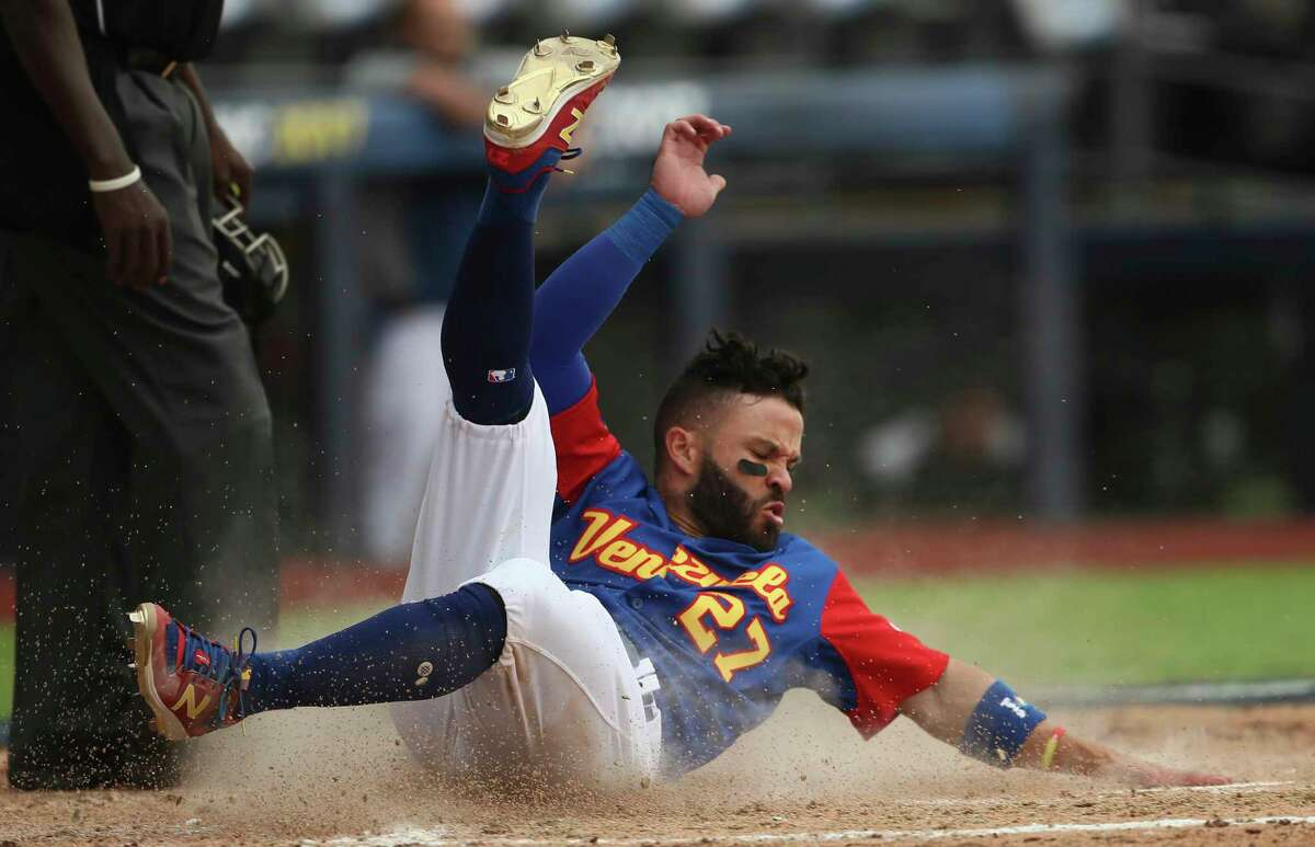 ASTROS IN THE WORLD BASEBALL CLASSIC Jose Altuve, Venezuela Altuve started out the tournament playing second base and batting leadoff, but he played the last two games at third base. Altuve hit .259 (7-for-27) with no extra base hits.